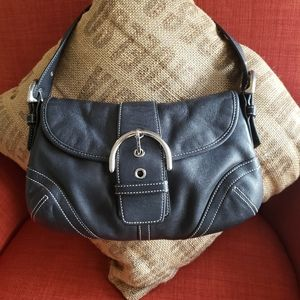 Coach small leather Soho bag